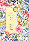 Mother's Day Card-Paisley Card